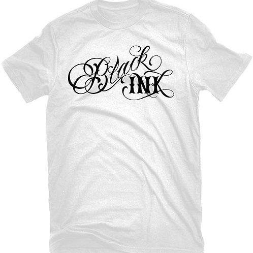 Classic Black Ink Logo T-Shirt