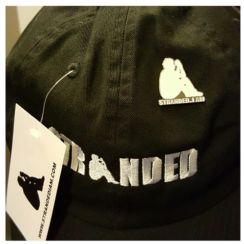 Dad Hats // Embedded with ** Lapel Pin **
