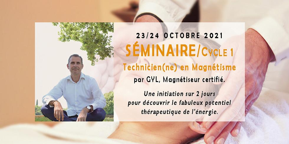 Cycle 1 / Séminaire Technicien en Magnétisme / Octobre 2021