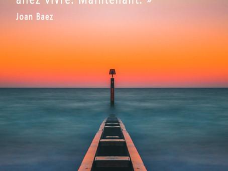Message du jour de Joan Baez à méditer