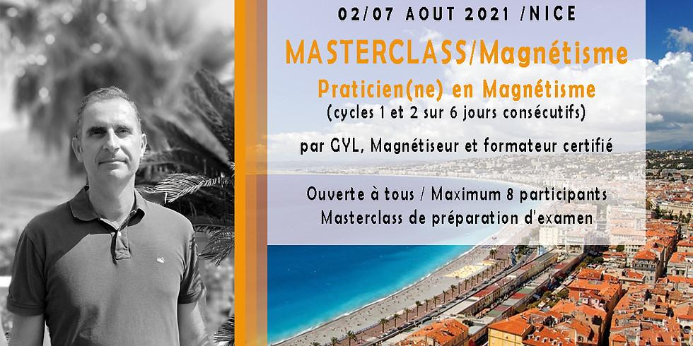 MASTERCLASS / Praticien en Magnétisme /  ETE 2021