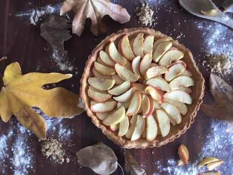 Best Caramel Apple Tart