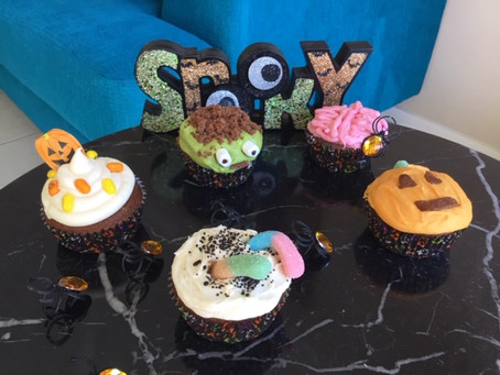 Spooky & Delicious Halloween Chocolate Cupcakes