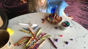 Toddler Crafts in Corona Quarantine