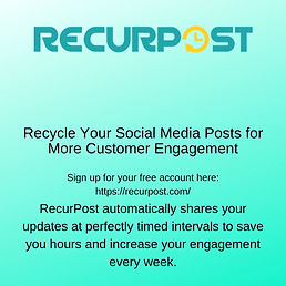 Recycle Your Social Media Posts for More