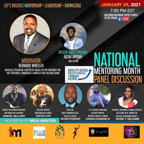 National Mentoring Month Panel Discussion