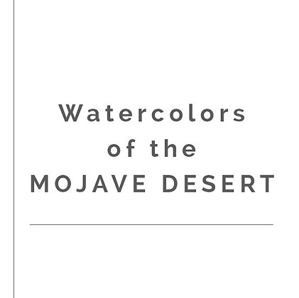 MOJAVE WATERCOLOR COLLECTION