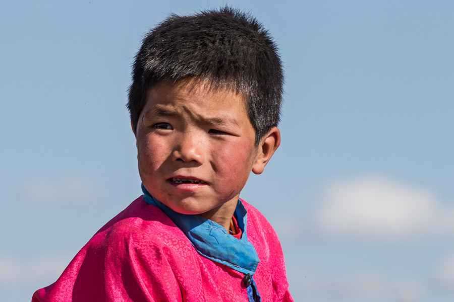 Rider at Naadam