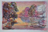 #1243 - Rivière au soleil couchant