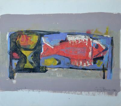 #1061 - Le poisson rouge