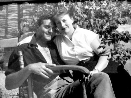 Guy et Thérèse Renne vers 1952