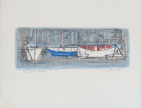 #60 - Petites Barques Bleues