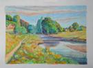 #1217 - La rivière le chemin
