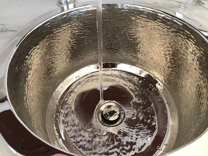 Hand Hammered Bar Sink