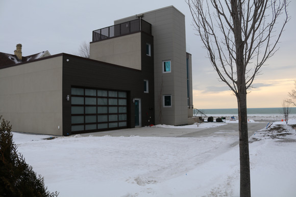 Custom Home - Lake Michigan, Racine, WI