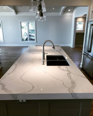 Kitchen Island, Ranch Home