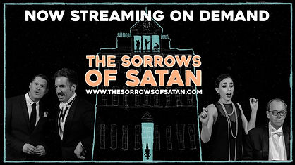 NOW STREAMING ON DEMAND with a picture of the cast and the logo