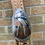Thumbnail: Indian Girl Spoon Headstall Buckle