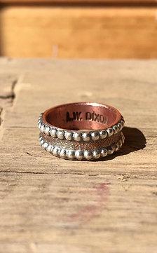 Copper dot ring