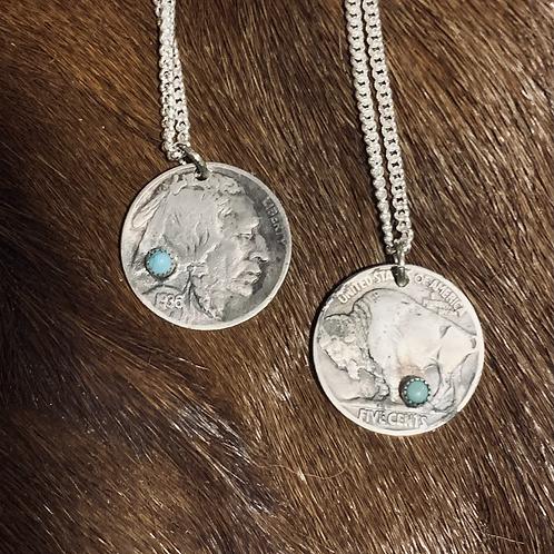 Buffalo Nickel Necklace