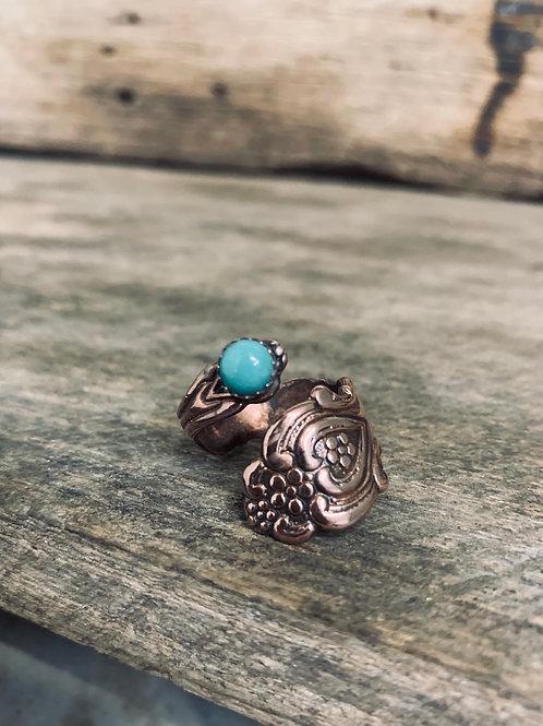 Copper Spoon Rings