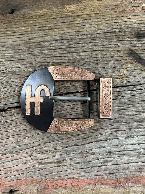 Engraved Cowboy Buckle