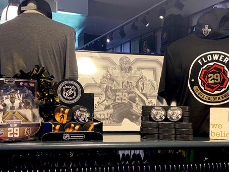 Golden Knights Selling Out Playoff Merchandise, With Fleury, Lehner Merch Sales Going Strong