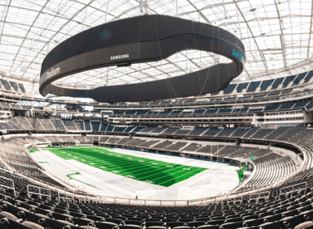 NFL's Two Newest Stadiums In LV and LA Are An Odd Couple
