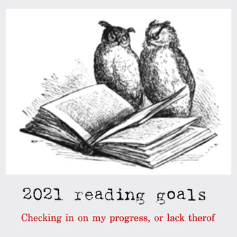 Reading challenge 2021 Check-in: January