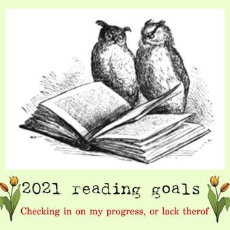 May 2021 readings