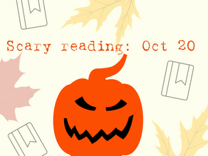 Scary books read in October 2020