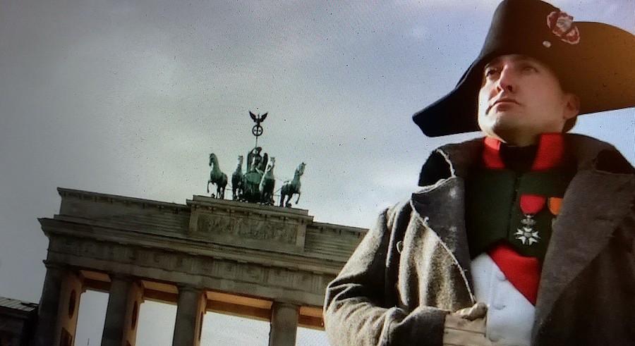 Napoléon Mark Schneider v Berlíně.