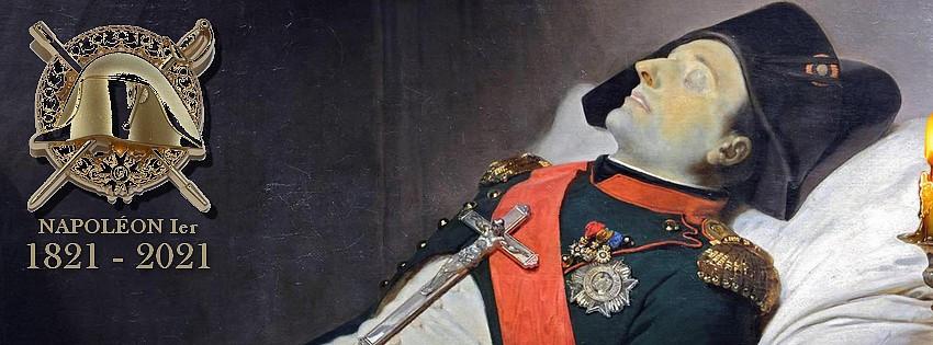 Smrt Napoleona Bonaparta na Svaté Heleně.