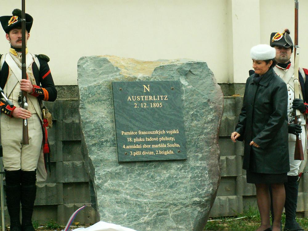 Památník v obci Kobylnice 2005.