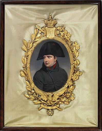 Císař Napoleon První. Horace Vernet.