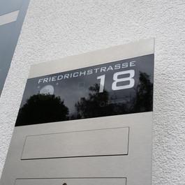 ERCOTEH Unterputz-Briefkasten mit Legrand Bticino Kamera und Lautsprecher