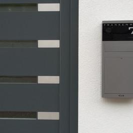 ERCOTEH Aufputz-Briefkasten TSA 600-ZS mit Legrand Bticino Kamera und Lautsprecher
