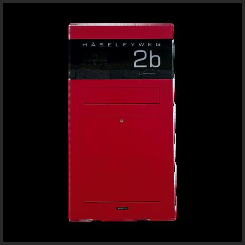 Unterputz-Briefkasten TSU 600-RAL Wunschfarbe 7016 Anthrazit