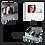 Thumbnail: Unterputz-Aufputz Briefkasten TSU 600-RAL 7016 Anthrazit Video-Türsprechanlage