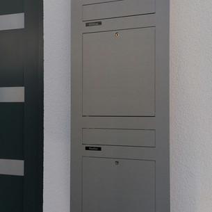 Unterputzbriefkasten 2-Familien TSU 600-