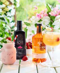 Tequila rose & Orange vodka