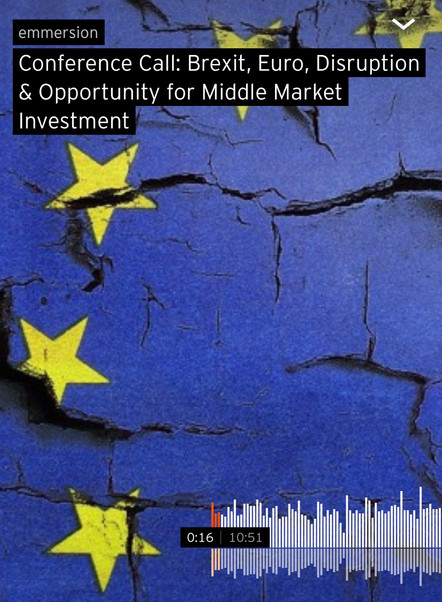 Conference Call: Brexit & Opportunity