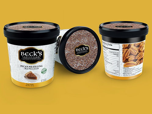 Beck's Confections Pecan Pie Filling