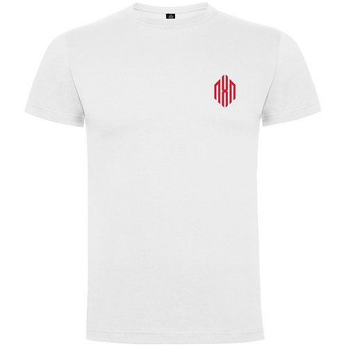 White t-shirt with RED icon