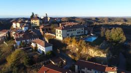 Drone photo of the Castello