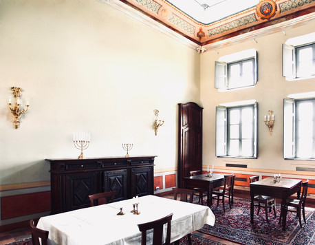 Dining room in the Manor House
