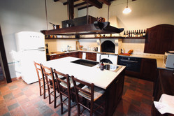 The kitchen in the Manor House