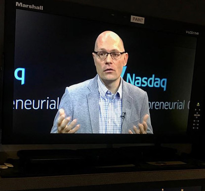 Speaking at Nasdaq
