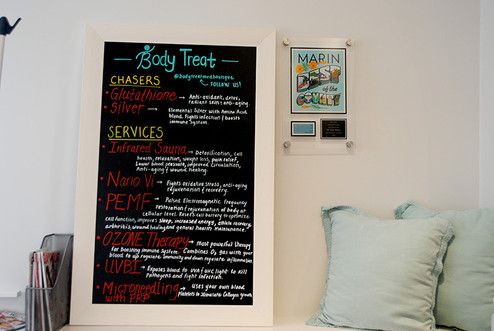 Enjoy our happy, upbeat environment at Body Treat in Marin