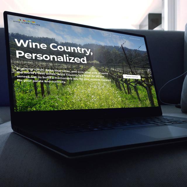 Sonoma Winery Tourism Website
